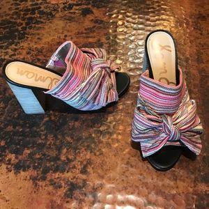 Sam Edelman Open Toe Mule Sandals - Size 8